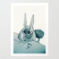 another bunny Art Print