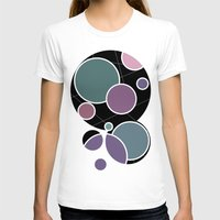 circles T-shirts featuring CIRCLES by VIAINA DESIGN