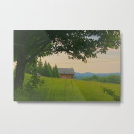 Shady Tree in Danville Metal Print