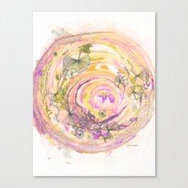 Whirl Pool Canvas Print