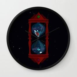 Cosmic Hourglass Wall Clock