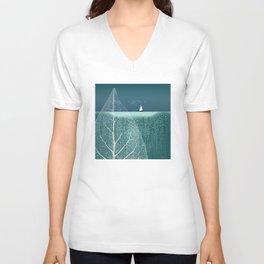 OCEAN WONDERLAND VIII Unisex V-Neck