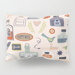 Ink and Things for Writers Pillow Sham