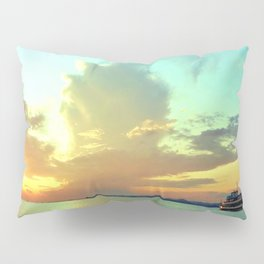 Sunset on Lake Constance Pillow Sham