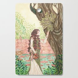 Frigg's garden Cutting Board