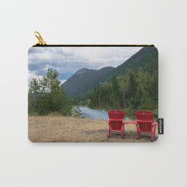 Red Chairs Photography Carry-All Pouch