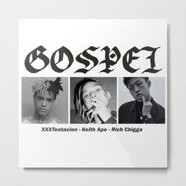 GOSPEL Metal Print
