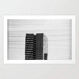 Crosswires Art Print