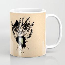 Nevada - State Papercut Print Coffee Mug