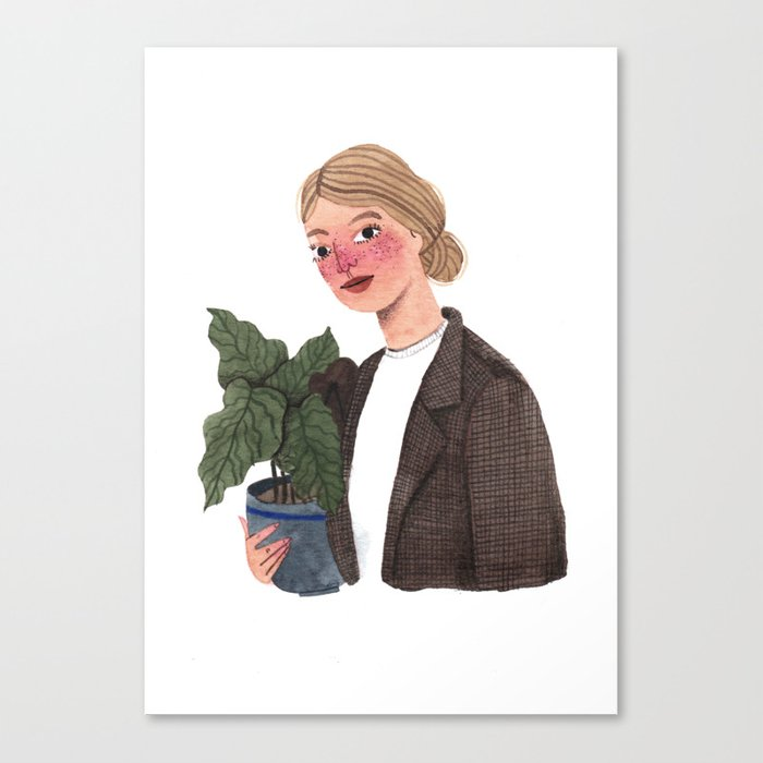 Antonieta Canvas Print