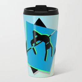 High-level jumper in the athletics Travel Mug