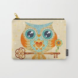 Owl's Summer Love Letters Carry-All Pouch