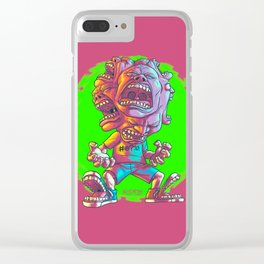 Not Enough Mouths To Scream It Out Clear iPhone Case