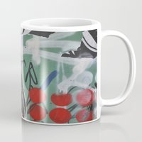 graffiti Mugs featuring Graffiti by AntWoman