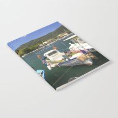 Fishing boats at Ipsos Notebook
