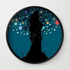 The tree. Wall Clock