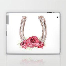 Derby Horseshoe, Roses, Kentucky, Races Laptop & iPad Skin