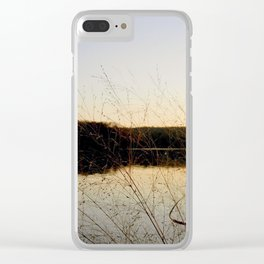 Reeds by the River | Severn River, MD Clear iPhone Case