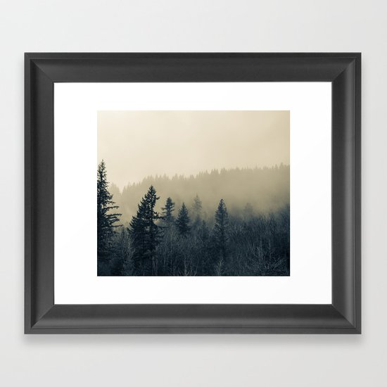 Mists of Noon Framed Art Print