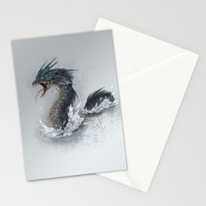 water dragon  Stationery Cards