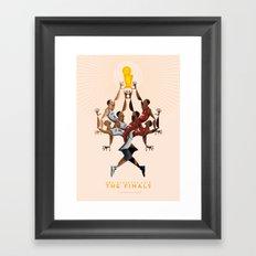 NBA PLAYOFFS 2014 - THE FINALS Framed Art Print