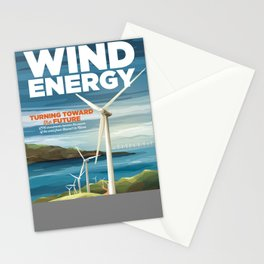 US Department of Energy LPO Poster - Wind Energy (2016) Stationery Cards