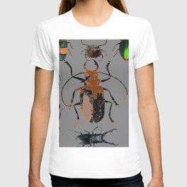 NATURE LOVERS BEETLE BUG COLLECTION ART T-shirt