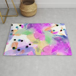 the funky road Rug