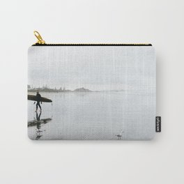 Surfing at Sumner Carry-All Pouch