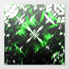 Metallic X Canvas Print
