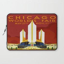 1933 Chicago World's Fair Laptop Sleeve