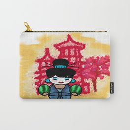 chien po momiji  Carry-All Pouch