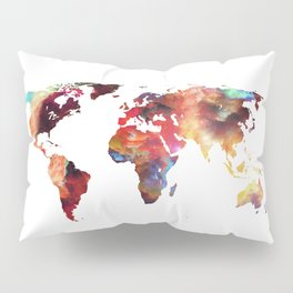 Colorful World Pillow Sham