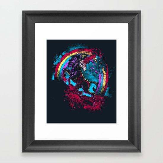 Murdercorn Framed Art Print