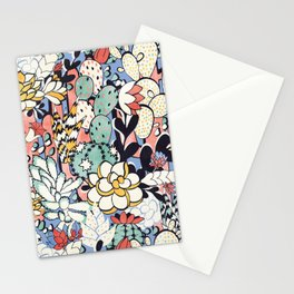 Blue Sky Succulents Stationery Cards