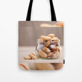 Brazil nuts from Bertholletia excelsa Tote Bag