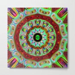 Mandala kaleidoscope Metal Print