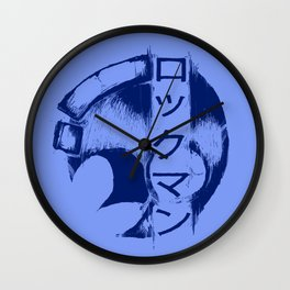 Rockman Wall Clock