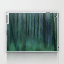 Painted Trees 2 Aqua Laptop & iPad Skin