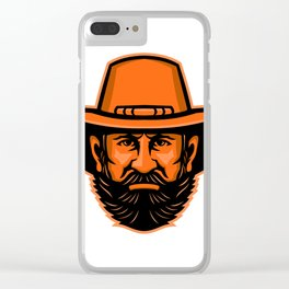 General Ulysses Grant Mascot Clear iPhone Case
