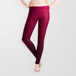 Red Velvet Ombre Leggings