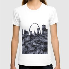 Saint Louis Skyline Missouri T-shirt