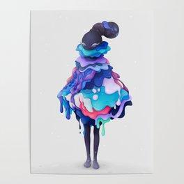 Lollipop Queen Poster