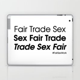 Trade sex fair Laptop & iPad Skin