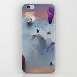 Dream Gliding Flash iPhone Skin