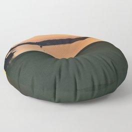 11 at Sunset Floor Pillow