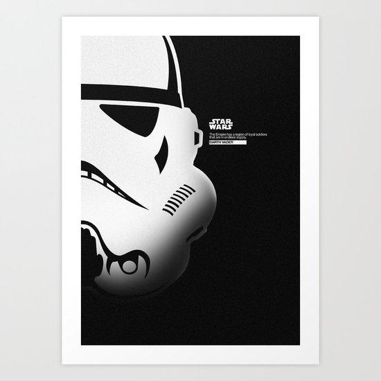SW SOLDIER Art Print