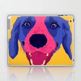 beagle - yellow Laptop & iPad Skin