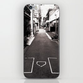 Best alley in Tokyo. iPhone Skin