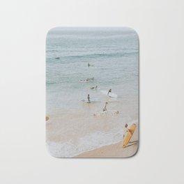 lets surf iii Bath Mat
